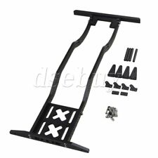 Black Alumimum Upgrade RC1:10 Chassis Frame for AXIAL SCX10 RC4WD D90