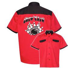 Brew Crew Stock Print on Anchor Man Bowling Shirt