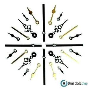 New Replacement Quartz Metal Clock Hands For Clock Movement Mechanism Press Fit