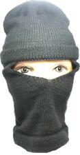 Grey Full Face Cover Winter Ski Mask Beanie Hat Stretchy Men Women Boys Girls