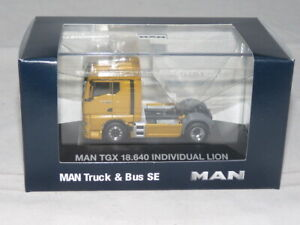 herpa 944137 MAN TGX 18.640 Sattelzugmaschine Individual Lion 1:87 NEU + OVP