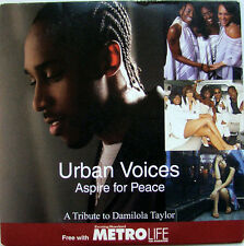 URBAN VOICES: ASPIRE FOR PEACE – TRIBUTE TO DAMILOLA TAYLOR - PROMO CD (2004)