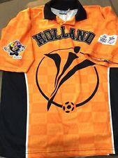 Vintage 2000 EURO UEFA HOLLAND Futbol Soccer Shirt Jersey Men's Size Large