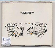 Heinz Rudolf Kunze Maxi-CD Leg Nicht Auf - 3-track CD