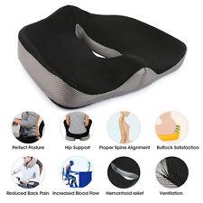 Coccyx Orthopedic Gel-enhanced Comfort Seat Pad Office Car Chair Cushion Travel