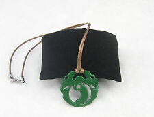 Lara Croft Tomb Raider Necklace Green Pendant Great Gift