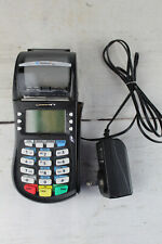Hypercom Optimum T4220 Credit Card Pos Terminal Working with Power Supply Used