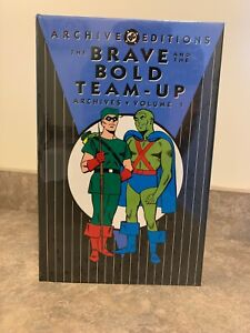DC ARCHIVE EDITIONS THE BRAVE and the BOLD TEAM-UP VOL 1 HARDCOVER 2005 SEALED