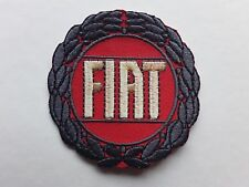 FIAT ITALIAN CAR MOTORSPORT RALLY  RACING EMBROIDERED QUALITY PATCH UK SELLER