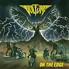 Volture - On The Edge LP CLEAR 100 - Municipal Waste Cannabis Corpse members -