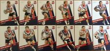 2012 NRL SELECT DYNASTY SYDNEY ROOSTERS TEAM SET 12 CARDS