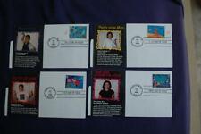 Stampin' the Future Child Designed Stamps 4 FDCs William S#3414-3417 10969