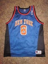 New York Knicks Latrell Sprewell jersey finals melo ewing reed fraizer king