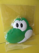 "Mario Brothers ""Yoshi"" PVC Key Chain Double Sided 2""in Tall x 2.5""in Wide"