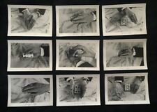 9 Original Ed Marlo Photographs Magic Rubber Band & Card Effect V/Rare!