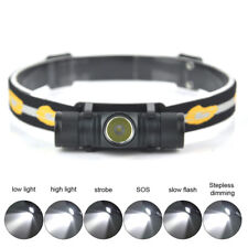 8000LM  XM-L2 LED D10 Flashlight Camping Headlamp Headlight 18650 Hunting Torch
