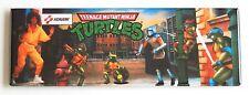 Ninja Turtles Marquee FRIDGE MAGNET (1.5 x 4.5 inches) arcade teenage mutant