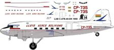 LAB Douglas DC-3 C-47 airliner decals for Minicraft 1/144 kits