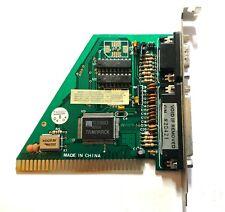 TAMARACK TD3088A3 8-Bit ISA 25-Pin Parallel Port MGP Video Graphics Card