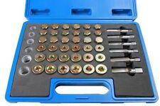BERGEN 114 Piece Oil Drain Sump Pump Thread Repair Tool Kit 3004