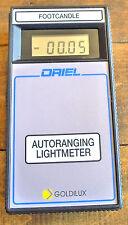 Newport Oriel 70229  Goldilux GAL-5L Autoranging Light Meter