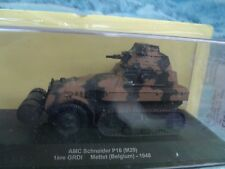 1/43 Altaya Military Magazine Series AMC Schneider P16 (M29)  Belgium 1940