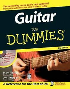 Guitar For Dummies - Paperback By Phillips, Mark - VERY GOOD