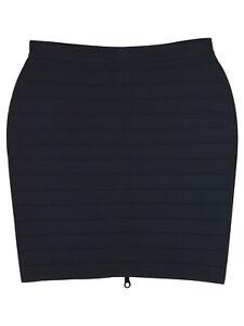 Christopher Kane Bodycon Ribbed Mini Skirt