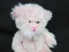 GANZ BREAST CANCER COMAN PINK BEAR H11318 BEANBAG PLUSH STUFFED ANIMAL RIBBON