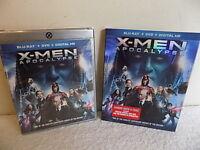 X-MEN APOCALYPSE BRAND  NEW FACTORY SEALED  DVD BLU-RAY DIGITAL HD EXTRAS