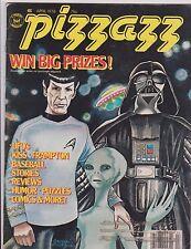 PIZZAZZ #7 SPOCK & DARTH VADER COVER/ KISS / PETER FRAMPTON / UFO's  1978 MARVEL