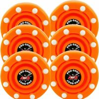 IDS Pro Shot Inline Roller Hockey Pucks - 2 Day Shipping - 6 Pack