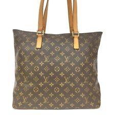 100% Authentic Louis Vuitton Monogram Cabas Mezzo Shoulder Tote Bag /40197