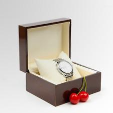 Box Men Automatic Watch Storage Boxes New 100x Piano Wooden Single Wristwatch