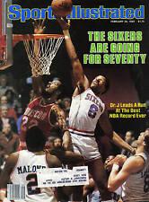 1983 Sports Illustrated, Basketball, magazine,Julius Erving, Philadelphia Sixers