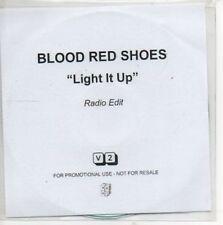 (AP112) Blood Red Shoes, Light It Up - DJ CD