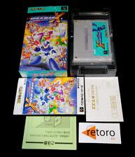 ROCKMAN X MEGAMAN Super Famicom Nintendo SNES SFC JAP  Capcom Complete
