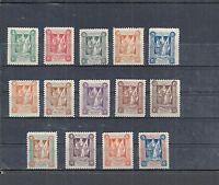 Marienwerder, 1920 Michelnummern: 30 - 43 *, ungebraucht *, Katalogwert € 100,00