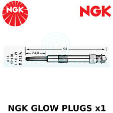 NGK Glow Plug - For Fiat Bravo I MK I Hatchback 1.9 JTD 105 (1998-01)