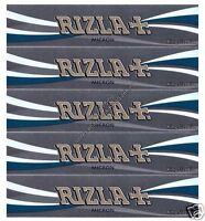 RIZLA MICRON KING SIZE SLIM ROLLING PAPERS (x5 KINGSIZE PAPER PACKS)