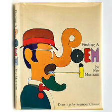 Children's Poetry: Finding a Poem SIGNED 1st DJ 1970 Eve Merriam Seymour Chwast