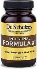 Dr Schulze's Intestinal Formula #1 Colon Bowel Cleanse 90 capsules