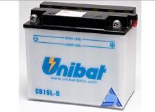 CB16L-B/SM BATTERIA MOTO UNIBAT 19 AH 240 A (EN) - COD. YAUSA YB16L-B