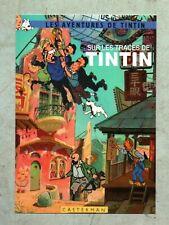 Carte Postale Tintin PASTICHE - Sur les traces de Tintin.. Boîte aux Images 2018