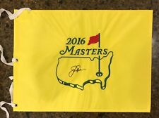 * JACK NICKLAUS * signed autographed * MASTERS FLAG * 6x Winner * PROOF * 3