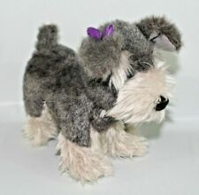 "Adorable Plush ""Scotty"" Scottish Fox Terrier Puppy Dog 11"" Stuffed Animal"