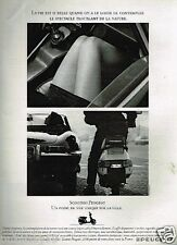 Publicité advertising 1990 Les Scooters peugeot