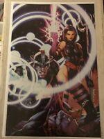 X-MEN #8 KAEL NGU VIRGIN VARIANT COVER PSYLOCKE HAVOK 2020 HTF low print run