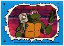 """Pin Button Badge Ø25mm 1/"""" Tortues Ninja Teenage Mutant Turtles TMNT Raphael"""
