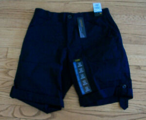 NWT Lee Flex to Go Relaxed Fit Womans Shorts Black Sz 10